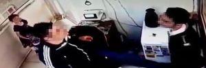 Site yöneticisi çocuklarının gözü önünde güvenlikçiye saldırdı