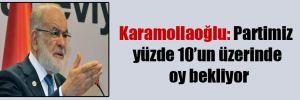 Karamollaoğlu: Partimiz yüzde 10'un üzerinde oy bekliyor