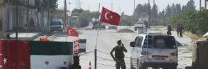 TSK birlikleri Menbiç sınırında devriyede, Cerablus'ta bombalı saldırı alarmı