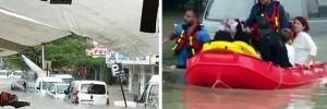 Meteoroloji uyarmıştı! Ankara sele teslim