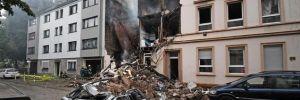 Almanya'da patlama: Çok sayıda yaralı var