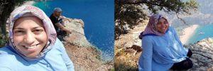 Kelebekler Vadisi'nde fotoğraf çektirirken 300 metreden düşen hamile kadın öldü