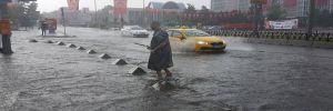 İstanbul'da 40 dakika içinde 24 su baskını