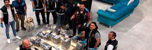 Kayseri'de 235 kilo eroin ele geçirildi