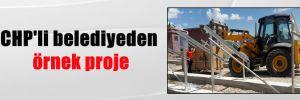 CHP'li belediyeden örnek proje