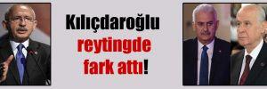 Kılıçdaroğlu reytingde fark attı!