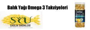Balık Yağı Omega 3 Takviyeleri