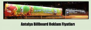 Antalya Billboard Reklam Fiyatları
