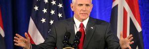 ABD Başkan Yardımcısı Pence'ten Suriye açıklaması