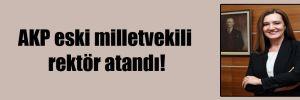 AKP eski milletvekili rektör atandı!