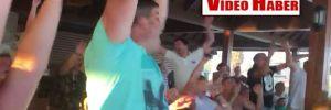 Antalya'daki Ruslar, İspanya'yı eleyince böyle sevindiler…