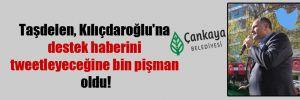 Taşdelen, Kılıçdaroğlu'na destek haberini tweetleyeceğine bin pişman oldu!