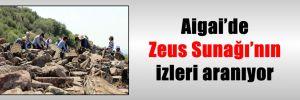 Aigai'de Zeus Sunağı'nın izleri aranıyor