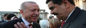 Erdoğan'dan Maduro'ya: 'Dik dur' mesajı