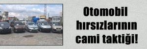 Otomobil hırsızlarının cami taktiği!