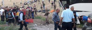 AKP'lileri taşıyan otobüs kaza yaptı: 5 ölü, 18 yaralı