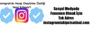 Sosyal Medyada Fenomen Olmak İçin Tek Adres instagramtakipcisatinal.com