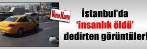 İstanbul'da 'insanlık öldü' dedirten görüntüler!
