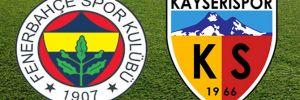 Fenerbahçe – Kayserispor: 2-3