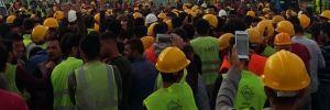 'İnsanca yaşamak istiyoruz' diyen işçilere tutuklama istemi!