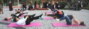 Gaziosmanpaşalı kadınlar spor yaparak zinde kalıyor