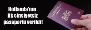 Hollanda'nın ilk cinsiyetsiz pasaportu verildi!