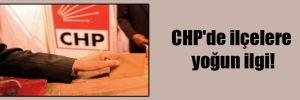 CHP'de ilçelere yoğun ilgi!