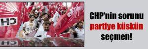 CHP'nin sorunu partiye küskün seçmen!