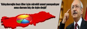 'Kılıçdaroğlu bazı iller için sürekli umut pompalıyor ama durum hiç de öyle değil'