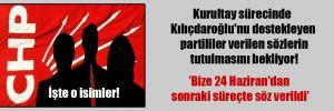 Kurultay sürecinde Kılıçdaroğlu'nu destekleyen partililer verilen sözlerin tutulmasını bekliyor!
