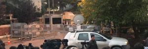 Türk yetkililer Suudi Başkonsolosluğu'nda