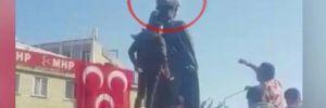 Adıyaman'da Atatürk anıtına saldırı