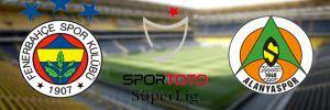 Fenerbahçe 2- 0 Aytemiz Alanyaspor
