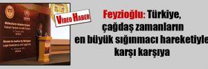 Feyzioğlu: Türkiye, çağdaş zamanların en büyük sığınmacı hareketiyle karşı karşıya