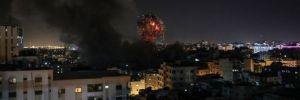Gazze'de karşılıklı hava saldırılarıyla can kayıpları yaşandı