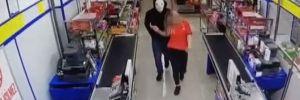 Maskeli market soyguncusu yakalandı