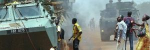 Orta Afrika Cumhuriyeti'nde silahlı çatışma: 37 kişi öldü, 20 bin kişi yerlerinden oldu