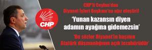 CHP'li Ceylan'dan Diyanet İşleri Başkanı'na ağır eleştiri!