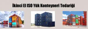 İkinci El ISO Yük Konteyneri Tedariği