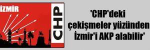 'CHP'deki çekişmeler yüzünden İzmir'i AKP alabilir'