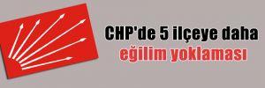 CHP'de 5 ilçeye daha eğilim yoklaması