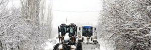 Yoğun kar ve tipi Ardahan'da ulaşımı olumsuz etkiledi