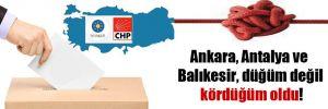 Ankara, Antalya ve Balıkesir, düğüm değil kördüğüm oldu!