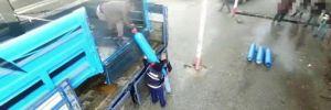 Diyarbakır'da oksijen tüpleri içerisinde uyuşturucu