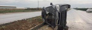 CHP'li Karataş Belediye Başkanı Ünal kazada yaralandı