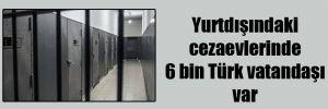 Yurtdışındaki cezaevlerinde 6 bin Türk vatandaşı var