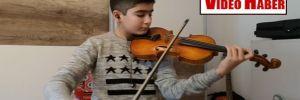 Geleceğin Mozart'ı 13 yaşındaki Ali İnsan