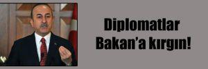 Diplomatlar Bakan'a kırgın!
