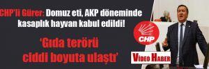 CHP'li Gürer: Domuz eti, AKP döneminde kasaplık hayvan kabul edildi!
