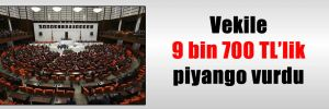 Vekile 9 bin 700 TL'lik piyango vurdu